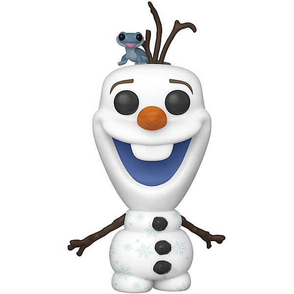 Funko Фигурка Funko POP! Rides: Disney: Холодное сердце 2: Олаф с огенной саламандрой, 46585 интерактивная игрушка олаф холодное сердце disney