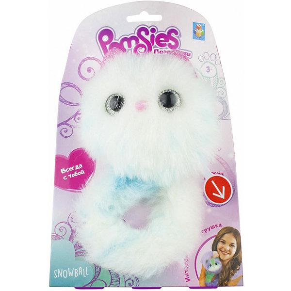 1Toy Интерактивный игрушка 1Toy Pomsies Snowball игрушка