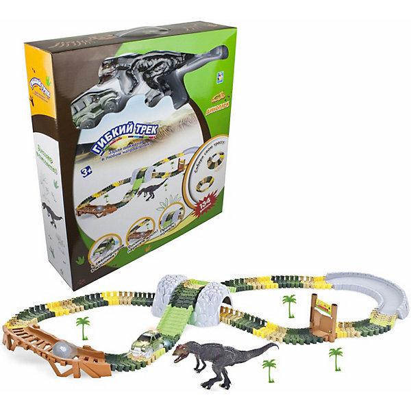1Toy Игровой набор 1Toy Гибкий трек: динопарк 1toy игровой набор прощай оружие профи топор 1toy