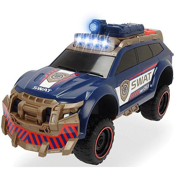 Купить Машинка Dickie Toys Полицейский внедорожник , 33 см, свет и звук, Китай, синий, Мужской