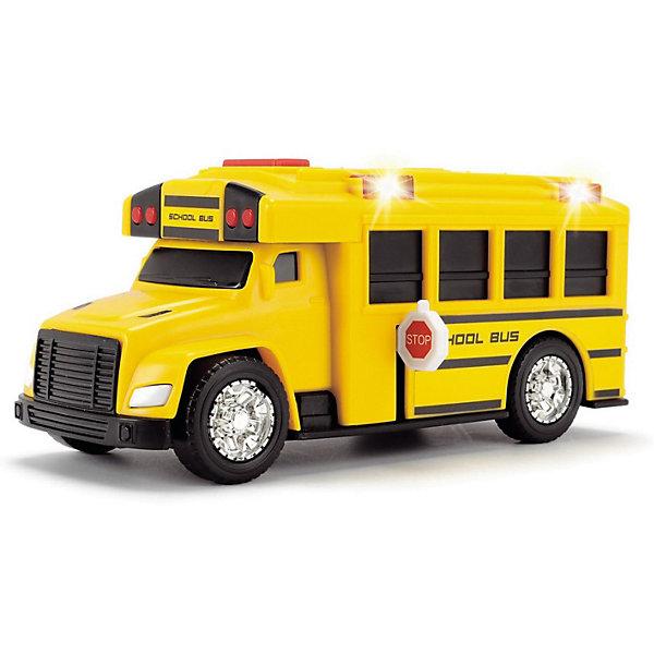 Школьный автобус Dickie Toys, 15 см, свет и звук фото