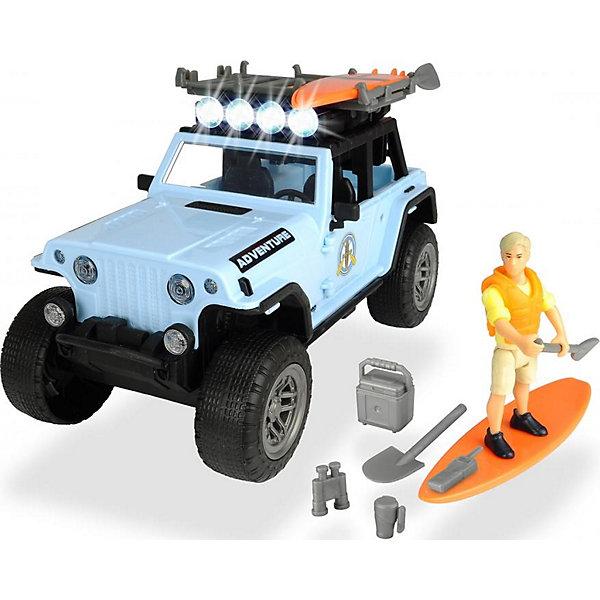 Dickie Toys Игровой набор серфера Dickie Toys Jeepster Commando PlayLife, 22 см игровой набор dickie toys playlife набор туриста