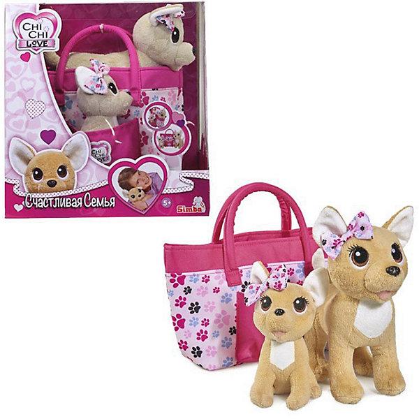 Simba Плюшевые собачки Simba Chi Chi Love Счастливая семья, 20 см, 14 см