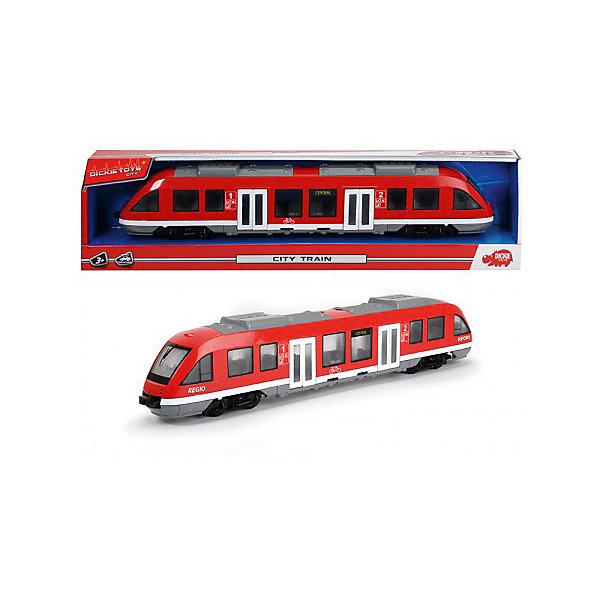 Купить Городской поезд Dickie Toys, 45 см, Китай, красный, Мужской