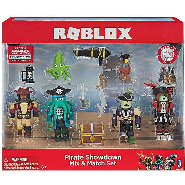 Купить Набор фигурок Jazwares Roblox Капитаны пиратов, Китай, Мужской