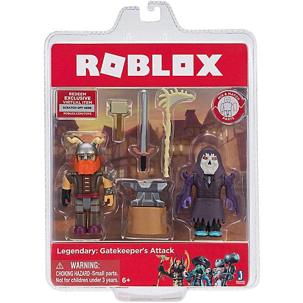 Купить Набор фигурок Jazwares Roblox Легенда: Атака Гейткипера, Китай, Мужской