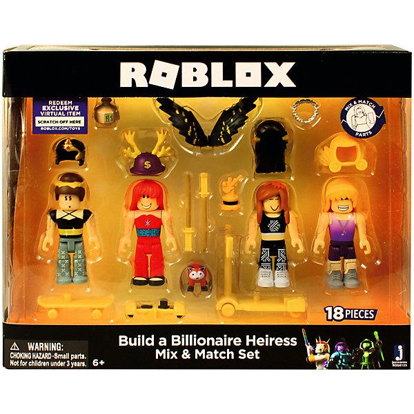 Купить Набор фигурок Jazwares Roblox Создайте наследницу Миллиардера, Китай, Мужской