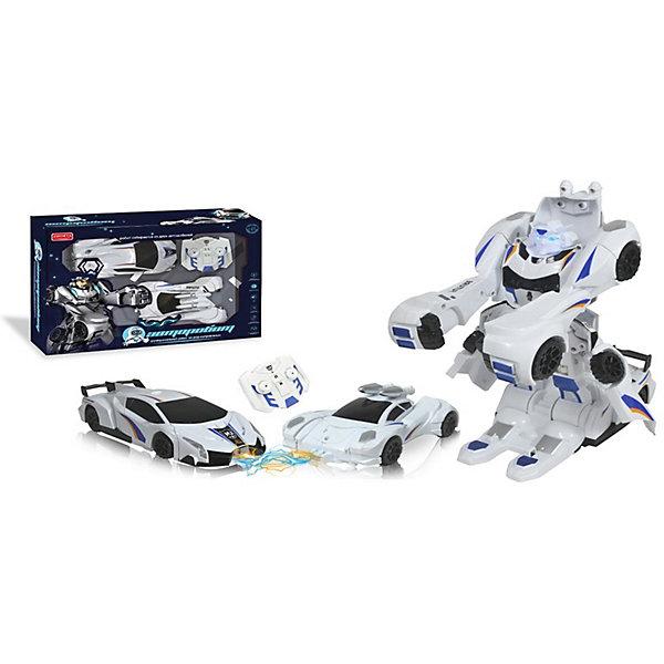 Zhorya Радиоуправляемый робот-трансформер Zhorya Авторобот конструктор игрушечный zhorya робот вертолет