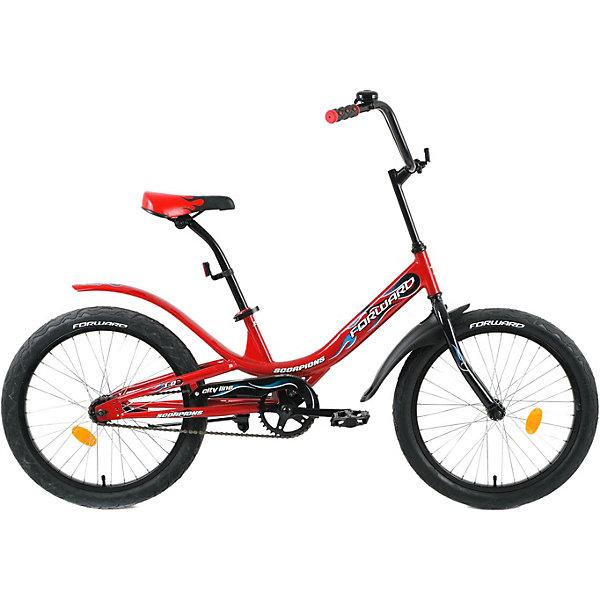 Фото - Forward Двухколёсный велосипед Forward Scorpions 1.0, 20 дюймов велосипед forward racing 16 girl compact 2015