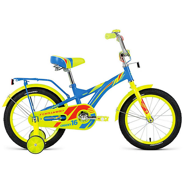 Фото - Forward Двухколёсный велосипед Forward Crocky, 16 дюймов велосипед forward racing 16 girl compact 2015