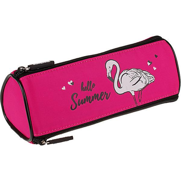 Berlingo Пенал-косметичка Berlingo Flamingo