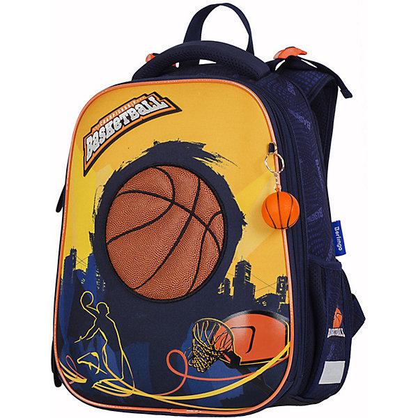 Купить Ранец Berlingo Expert Basketball, Китай, разноцветный, Мужской