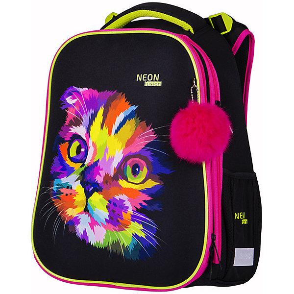 Купить Ранец Berlingo Expert Neon Cat, Китай, разноцветный, Женский