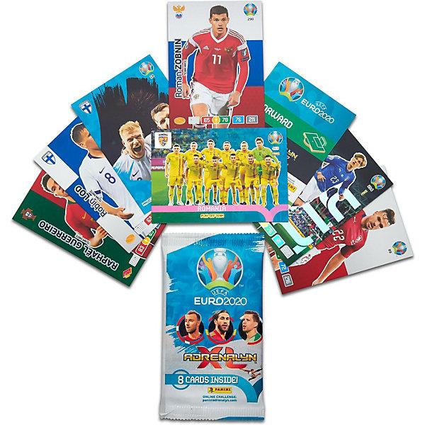 Фото - Panini Карточки Panini EURO 2020, 1 пакетик детские наклейки panini подарочная упаковка euro 2020 и 2 пакетика карточек