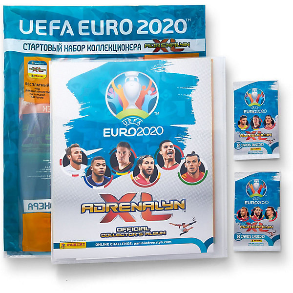 Фото - Panini Папка с карточками Panini EURO 2020, 2 пакетика детские наклейки panini подарочная упаковка euro 2020 и 2 пакетика карточек