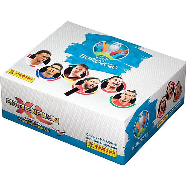 Фото - Panini Бокс с карточками Panini EURO 2020, 24 пакетика детские наклейки panini подарочная упаковка euro 2020 и 2 пакетика карточек