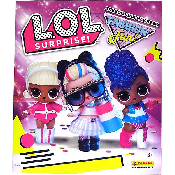 Альбом для наклеек Panini L.O.L. Surprise 3 по цене 150
