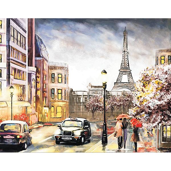 ТМ Цветной Алмазная мозаика Цветной Парижским вечером алмазная мозаика тм цветной радужные еноты 30x40 см