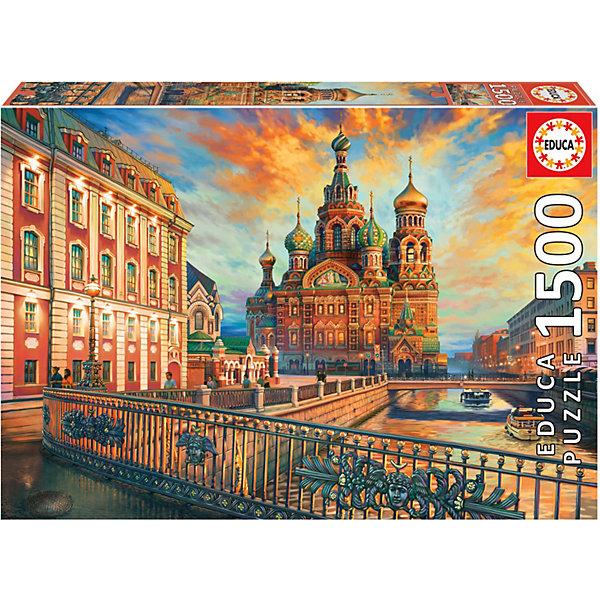 Educa Пазл Educa Санкт-Петербург, 1500 элеентов educa пазл 1500 деталей санкт петербург