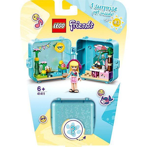 LEGO Конструктор LEGO Friends 41411 Летняя игровая шкатулка Стефани конструктор lego friends игровая шкатулка стефани