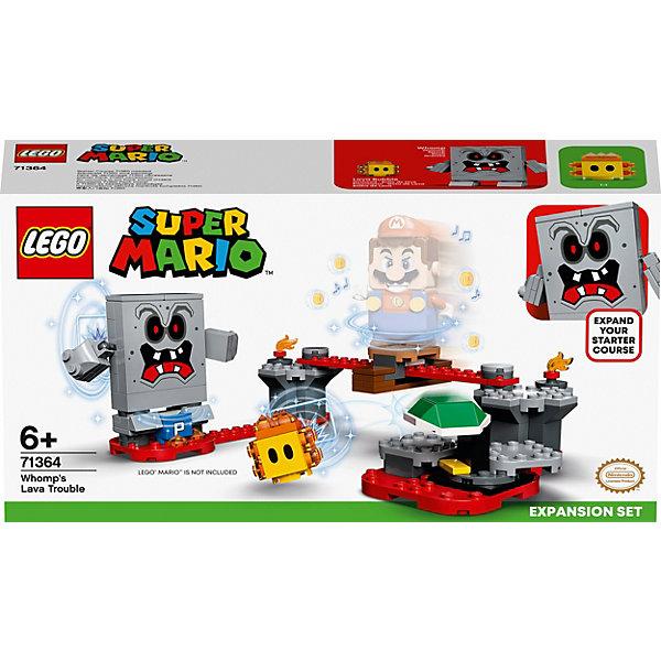 Конструктор LEGO Super Mario Неприятности в крепости Вомпа. Дополнительный набор 71364, 133 элемента Конструктор LEGO Super Mario Неприятности в крепости Вомпа. Допо