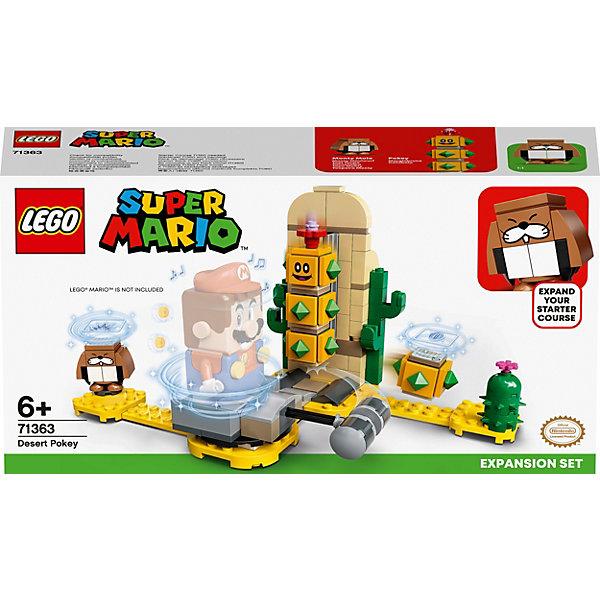 Купить Конструктор LEGO Super Mario Поки из пустыни. Дополнительный набор 71363, 180 элементов, Чехия, Унисекс