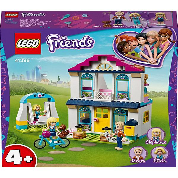 LEGO Конструктор LEGO Friends 41398: Дом Стефани конструктор lego friends 41338 спортивная арена стефани