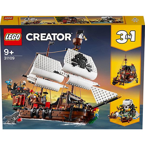 Конструктор LEGO Creator 31109: Пиратский корабль