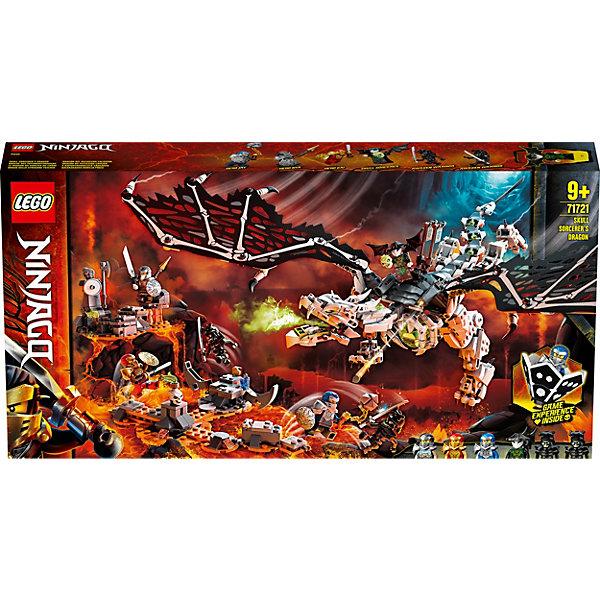 Конструктор LEGO NINJAGO Дракон чародея-скелета 71721, 1016 элементов