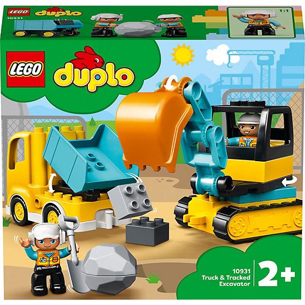 Конструктор LEGO DUPLO Town Грузовик и гусеничный экскаватор 10931