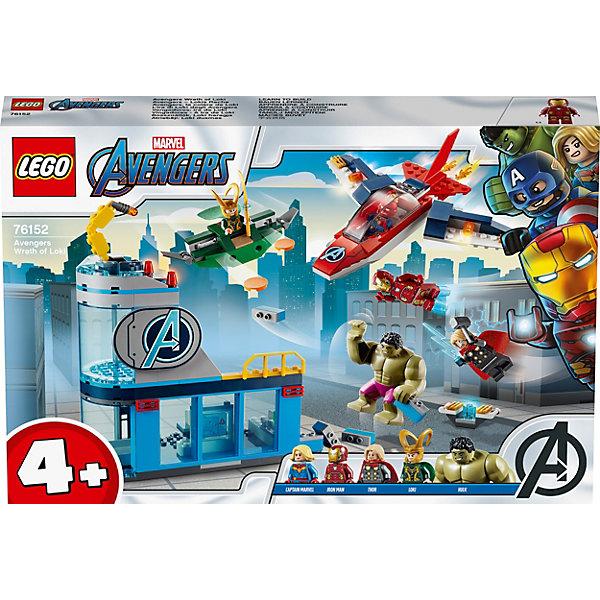 LEGO Конструктор LEGO Super Heroes 76152: Мстители: гнев Локи конструктор lno gift series 018 локи