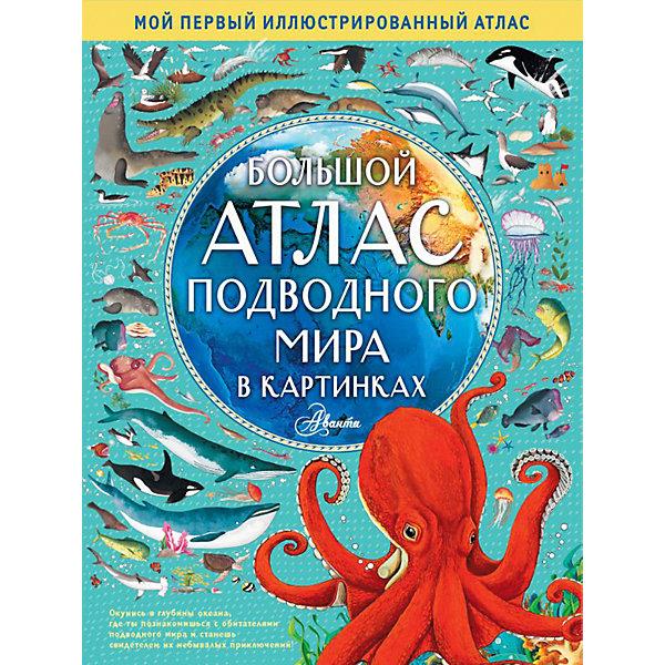 цена на Издательство АСТ Большой атлас подводного мира в картинках