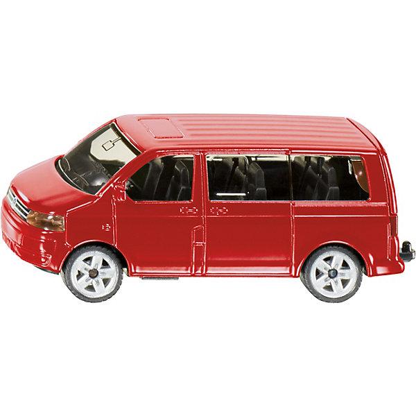 SIKU 1070 VW MultivanМашинки<br>SIKU (СИКУ) 1070 VW Multivan-это автомобиль, который может перевезти любую компанию от двух до восьми человек. <br><br>Корпус выполнен из металла, лобовое, заднее и боковые стёкла из прозрачной тонированной пластмассы, колёса выполнены из резины и вращаются, можно катать. Модель отлично сбалансирована и легко разгоняется от незначительного толчка рукой. В задней части мультивена закреплен крюк, с помощью которого к модели можно присоединять мини-прицепы от SIKU (СИКУ). У мультивена открывается задняя дверь. <br><br>Дополнительная информация:<br>-Материал: металл с элементами пластмассы<br>-Размер игрушки: 8,9 x 3,9 x 3,5 см<br><br>Игра с моделями SIKU (СИКУ) развивает воображение, мышление, память, мелкую моторику рук и координацию движений детей.<br><br>SIKU (СИКУ) 1070 VW Multivan можно купить в  нашем магазине.<br>Ширина мм: 97; Глубина мм: 78; Высота мм: 38; Вес г: 63; Возраст от месяцев: 36; Возраст до месяцев: 96; Пол: Мужской; Возраст: Детский; SKU: 1503781;