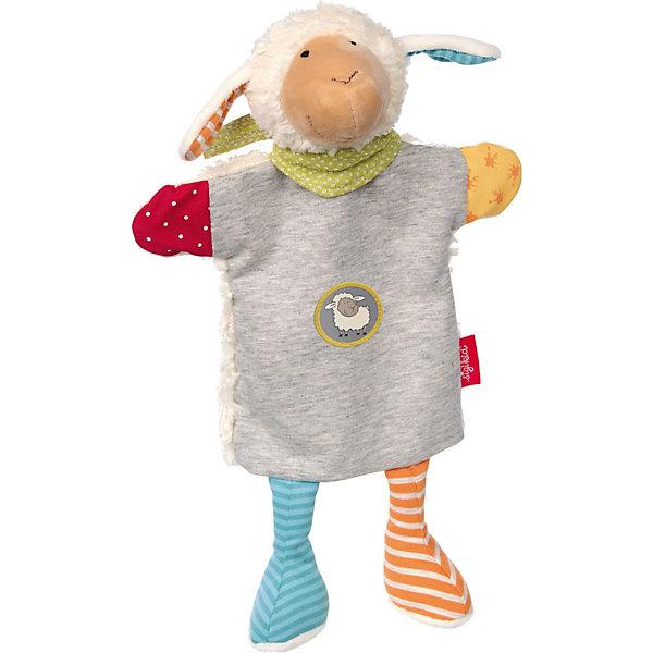 Sigikid Мягконабивная игрушка Sigikid, комфортер игрушка на руку Овечка Болли, 33 см