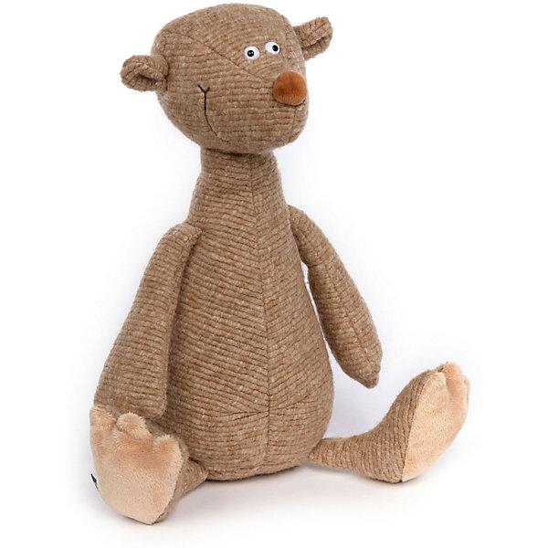 Sigikid Мягкая игрушка Sigikid Апчхи! Бежевый Мишка, 36 см мягкая игрушка sigikid свинка 30 см