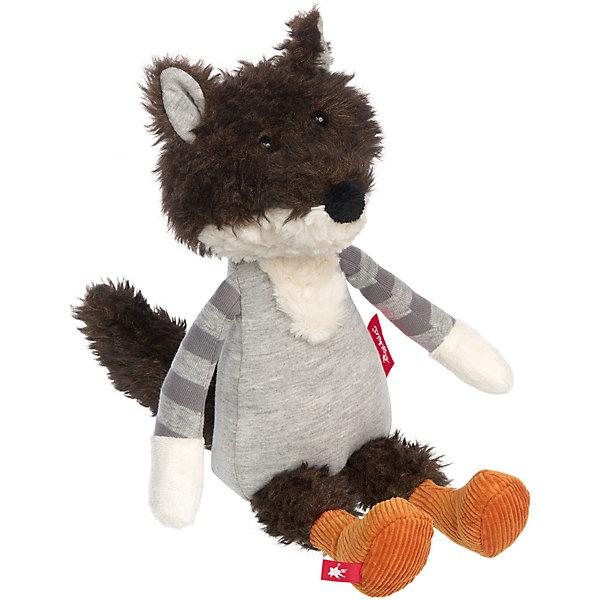 Sigikid Мягкая игрушка Sigikid Волк, коллекция Лоскутки, 32 см мягкая игрушка sigikid свинка 30 см