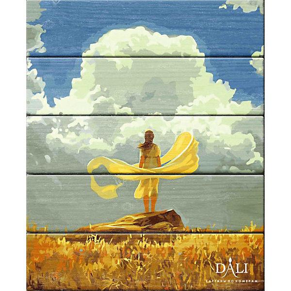 Dali Набор для раскрашивания по номерам по дереву Dali Утро деревянное панно с зеркалом glambers