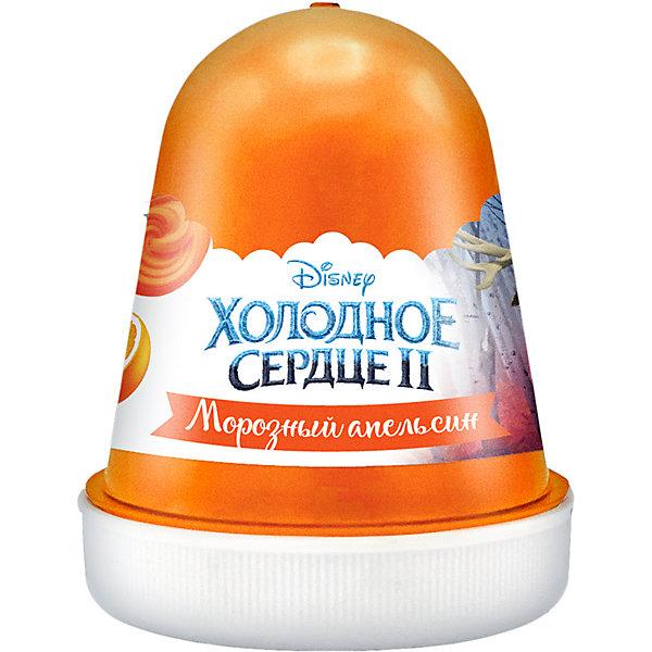 Купить Флаффи слайм Kiki Холодное Сердце 2 Морозный апельсин 120мл, Флаффи слайм Kiki Холодное Сердце 2 Морозный апельсин оранжевый 120мл, Россия, Унисекс