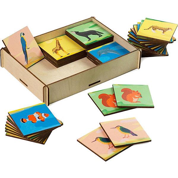 PAREMO Настольная игра Paremo Мемори Животные животные 32 карточки