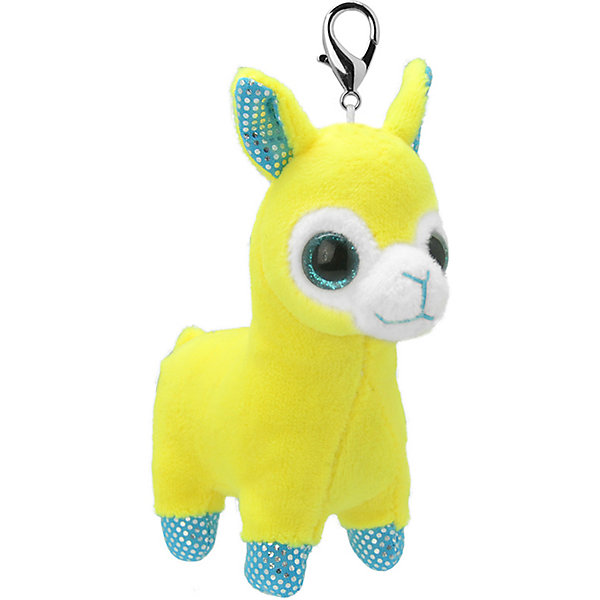 Wild Planet Мягкая игрушка-брелок Wild Planet Лама, 8 см