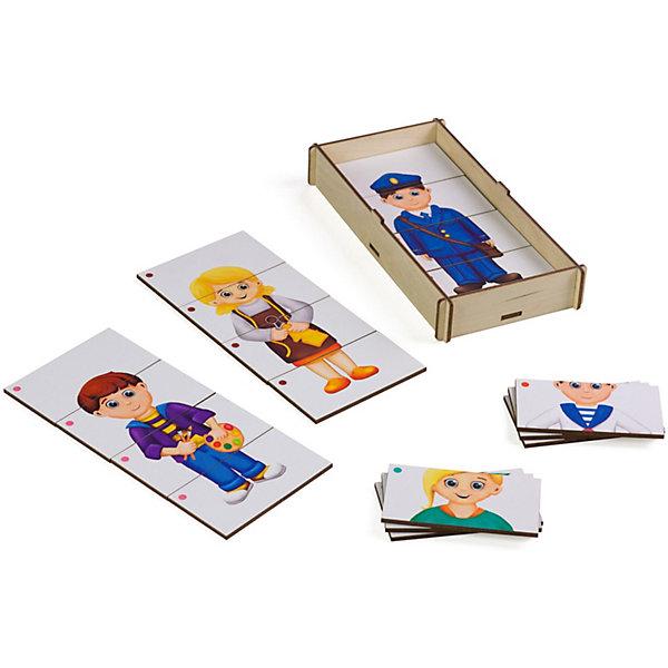корзины составные из водного гиацинта 3 шт PAREMO Игровой набор Paremo Составные картинки Профессии-3