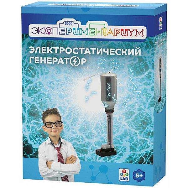 1Toy Набор для опытов 1Toy Экспериментариум Электростатический генератор 1toy набор для опытов 1toy экспериментариум космический флот 4 в 1