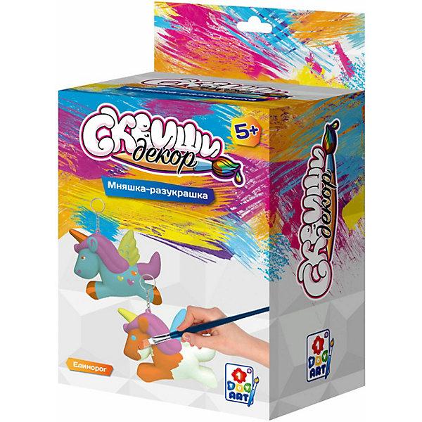 Купить Набор для творчества 1Toy Сквиши декор Единорог, Китай, разноцветный, Унисекс