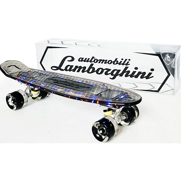 Lamborghini Скейтборд Lamborghini скейтборд pwsport classic цвет розовый зеленый дека 22