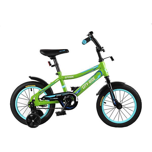 Двухколёсный велосипед City-Ride Spark 14