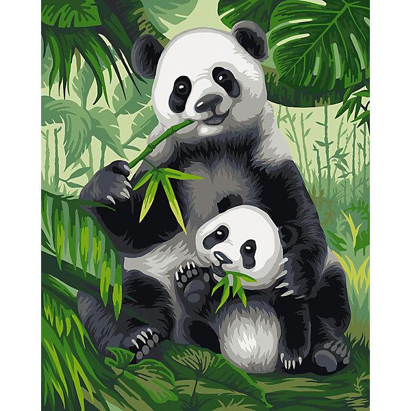 Купить Набор для раскрашивания по номерам Фрея Хозяева бамбукового леса , Россия, Унисекс