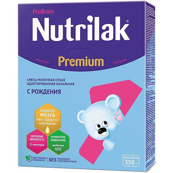 Купить Молочная смесь Nutrilak Premium 1, с 0 мес, 350 г, Россия, Унисекс
