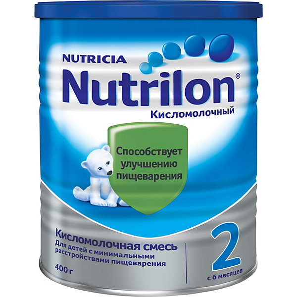 Nutrilon Молочная смесь Nutrilon 2 Кисломолочный, с 6 мес, 400 г humana эксперт 2 адаптированная сухая молочная смесь от 6 до 12 месяцев 350 г
