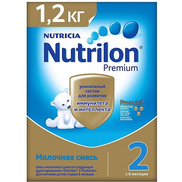 Купить Молочная смесь Nutrilon Premium 2, с 6 мес, 1200 г, Россия, Унисекс