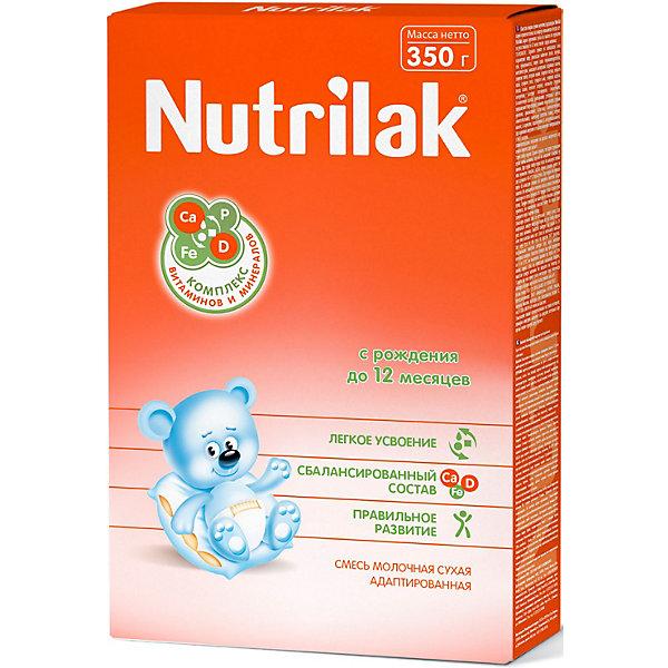 Купить Молочная смесь Nutrilak, с 0 мес, 350 г, Россия, Унисекс